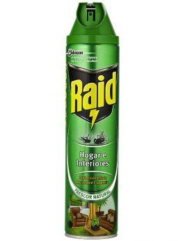 Raid insecticida hogar y plantas